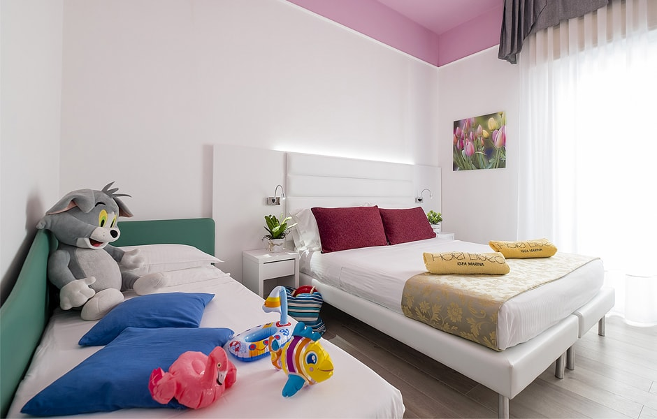 Servizi in camera | Hotel Eliseo
