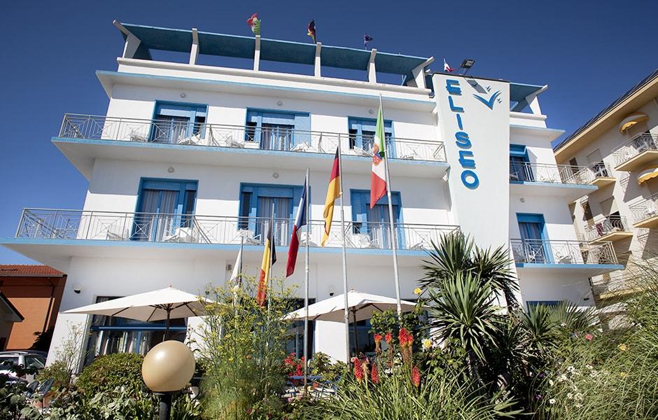 Hotel con Giardino Bellaria Igea Marina | Hotel Eliseo